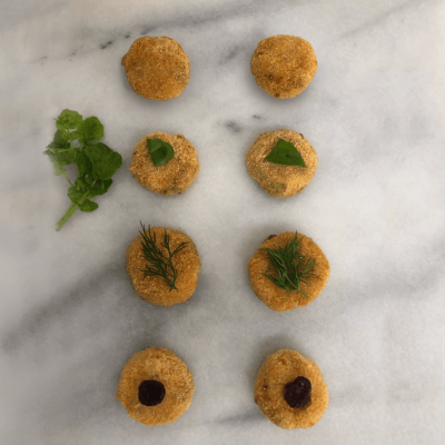 Smoked Trout hors d'oeuvres