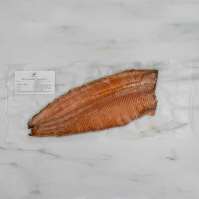 Side of Hampshire smoked trout.
